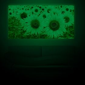 Canvas Wall Art It's sunny!, Glowing in the dark, 60 x 120 cm
