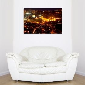 Tablou Jerusalim, luminos in intuneric, 80 x 120 cm