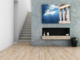 Tablou Acropole, luminos in intuneric, 80 x 120 cm