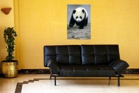 Tablou Panda, luminos in intuneric, 60 x 90 cm