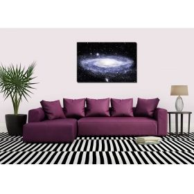 Canvas Wall Art Home, Glowing in the dark, 80 x 120 cm