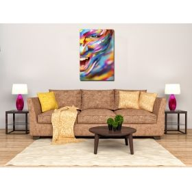 Canvas Wall Art Abstract Emotions, multi color, set, office, for bedroom, living room, modern, decor, prints, painting