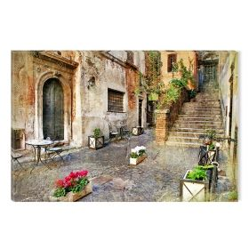 Canvas Wall Art Abstract Italian Decor, Nature, urban landscape, set, for bedroom, living room, kitchen room, modern, decor, prints, painting
