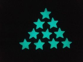 Stickere decorative. Set Magic 10 Stelute XS Startonight, luminoase in intuneric