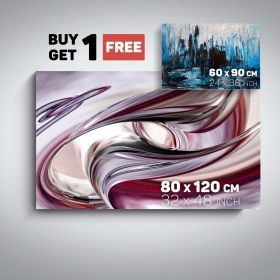 Canvas Wall Art Abstract Decor Destiny and Blue City Buy one Get Two Bundle Offer