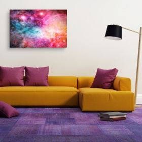 Canvas Wall Art For Girls Bedroom Daydream Landscape and Pink Universe Buy one Get Two Bundle Offer