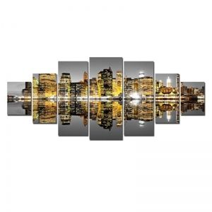 Large Canvas Wall Art Sets Cities & Arhitecture