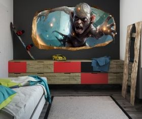3D Mural Wall Art My Precious!, Glowing in the dark, 1.50 x 0.82 m