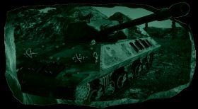 3D Mural Wall Art Tank, Glowing in the dark, 2.20 x 1.20 m