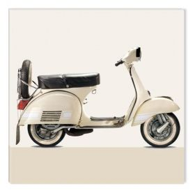 Tablou Vespa, luminos in intuneric, 80 cm x 80 cm