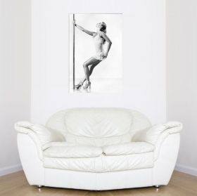Canvas Wall Art Sensuality, Glowing in the dark, 80 x 120 cm