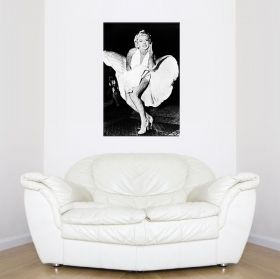 Canvas Wall Art Marilyn, Glowing in the dark, 80 x 120 cm