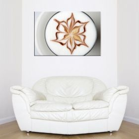 Canvas Wall Art Caffe Latte, Glowing in the dark, 80 x 120 cm