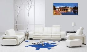 Tablou Paris - Pont Neuf, luminos in intuneric, 60 x 120 cm