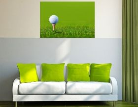 Tablou Golf, luminos in intuneric, 80 x 120 cm