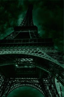 Tablou Turnul Eiffel, Paris, luminos in intuneric, 60 x 90 cm