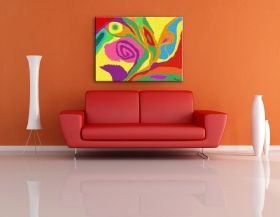 Tablou Armonia Culorilor by Diana, luminos in intuneric, 60 x 90 cm