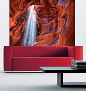 Mural Wall Art Cave II, Glowing in the dark, 1.83 x 1.28 m