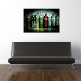Glass Wall Art Absolute, Glowing in the dark, 60 x 90 cm