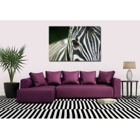 Tablou Zebra, luminos in intuneric, 80 x 120 cm