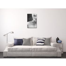 Canvas Wall Art Woman in Black and White, set, office, for bedroom, living room, kitchen room, modern, decor, prints, painting