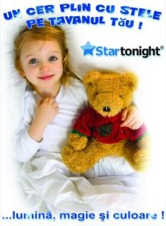 Stickere decorative, Set Fairy 10 Stelute M Startonight, luminoase in intuneric